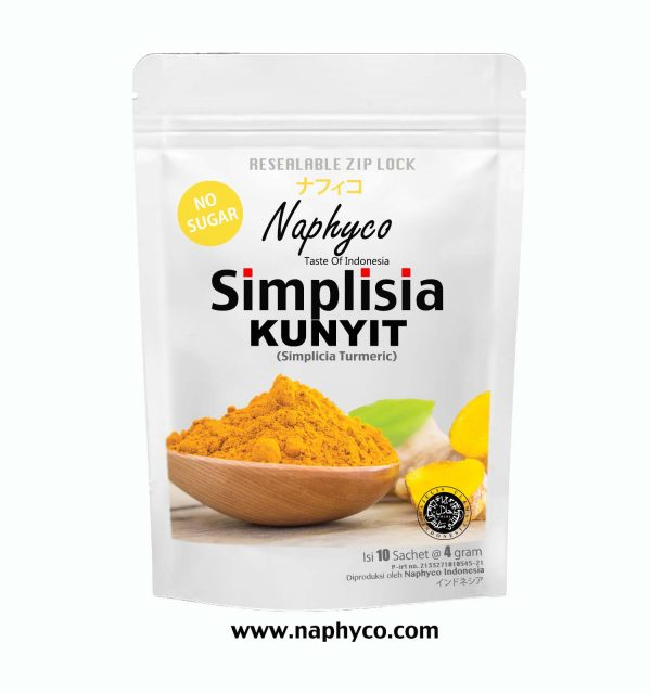 Simplisia Kunyit Naphyco